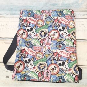 Disney Character Sticker Patch Print Backpack